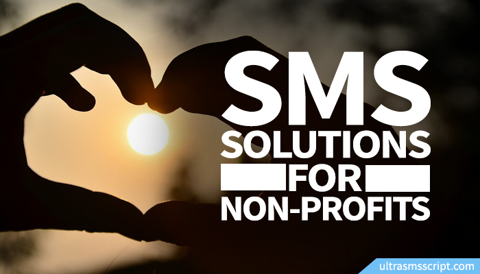 SMS Solutions for Nonprofits