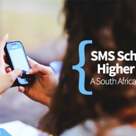 SMS Schools Higher Ed: A South African Study