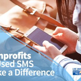 15 Nonprofits That Used SMS to Make a Difference